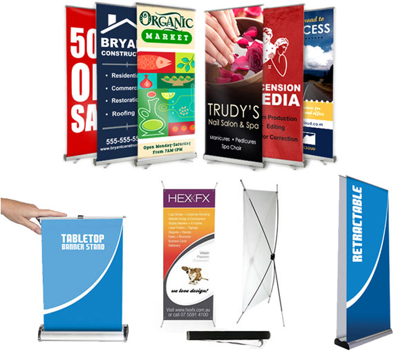 Retractable Banners Wrap City