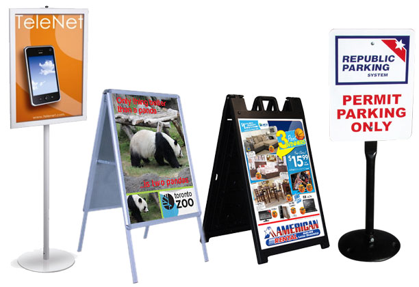 Freestanding-signs