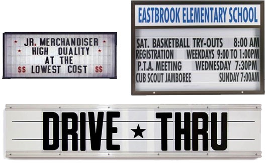 Marquee-signs