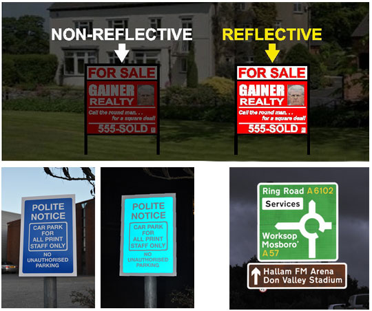 Reflective-signs